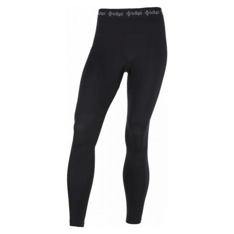 Męskie spodnie termiczne Knob-m czarny - Kilpi