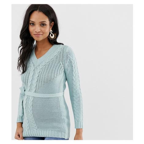 Mamalicious maternity organic cotton chunky knitted jumper Mama Licious