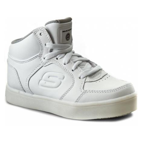 Sneakersy SKECHERS - Energy Lights 90600L/WHT White