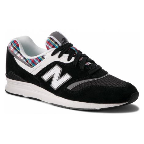 Sneakersy NEW BALANCE - WL697TRA Czarny
