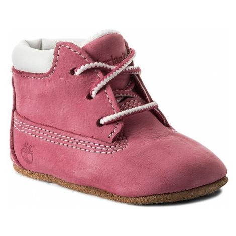 Trzewiki TIMBERLAND - Crib Bt W/Hat 9680R/TB09680R6611 Pink/Pink
