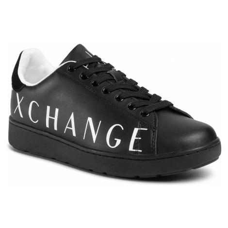Sneakersy ARMANI EXCHANGE - XUX084 XCC65 00002 Black
