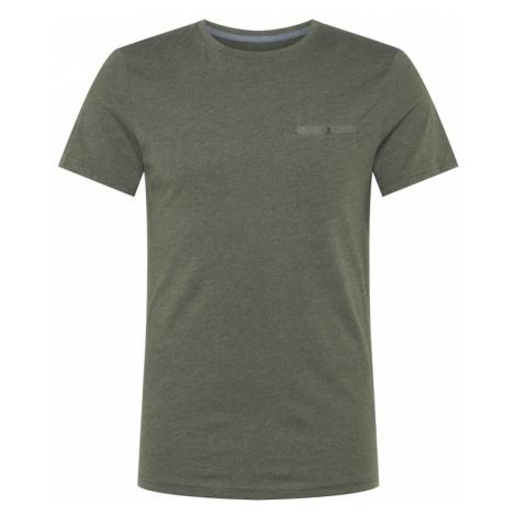 TOM TAILOR Koszulka ciemnozielony
