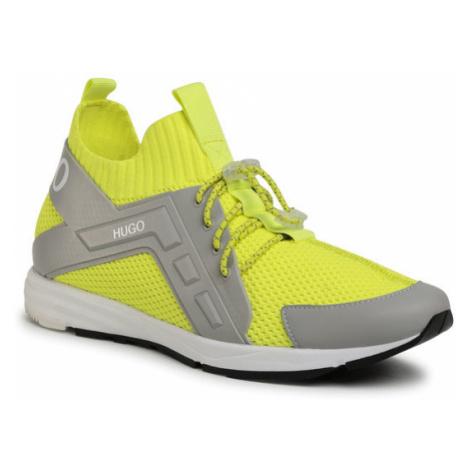 Hugo Sneakersy Hybrid 50433050 10227421 01 Żółty Hugo Boss