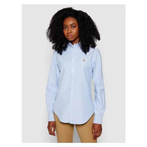 Polo Ralph Lauren Koszula Lsl 211806181 Niebieski Classic Fit