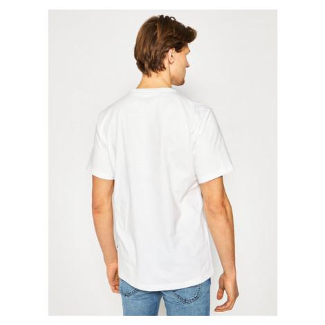 Converse T-Shirt All Star Ss Tee 10018373-A01 Biały Regular Fit