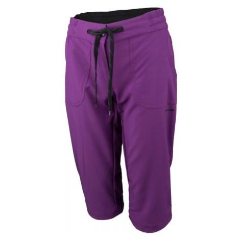 Head KORAH fioletowy 36 - Spodnie 3/4 damskie