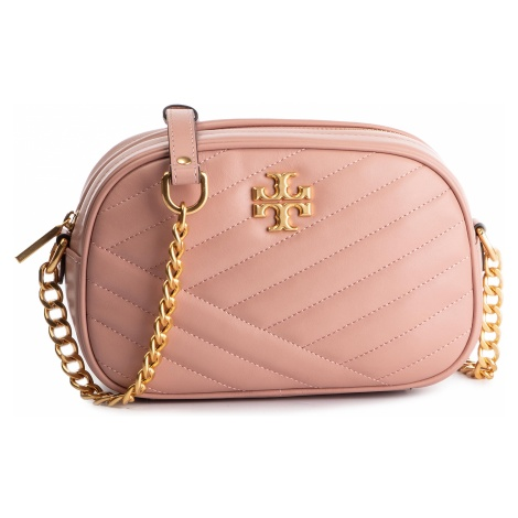 Torebka TORY BURCH - Kira Chevron Camera Bag 57769 Pink Moon 689