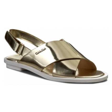 Sandały CALVIN KLEIN - Tonya N11942 Light Gold
