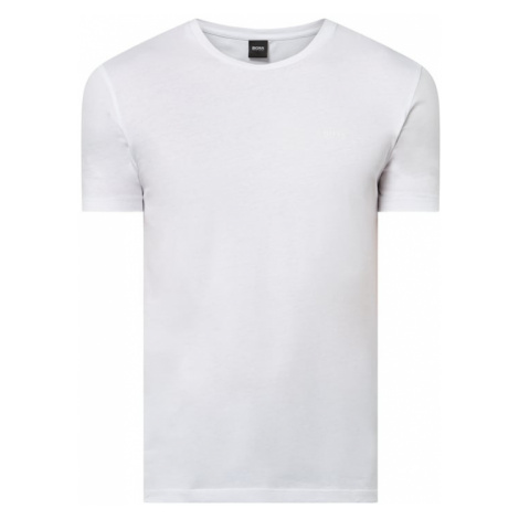 T-shirt z bawełny model 'Lecco' Hugo Boss