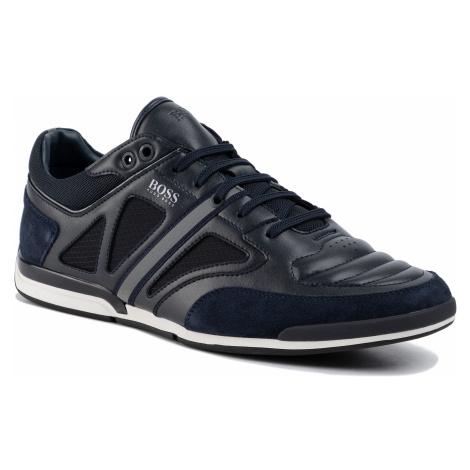Sneakersy BOSS - Saturn 50422397 10214531 01 Dark Blue 401 Hugo Boss