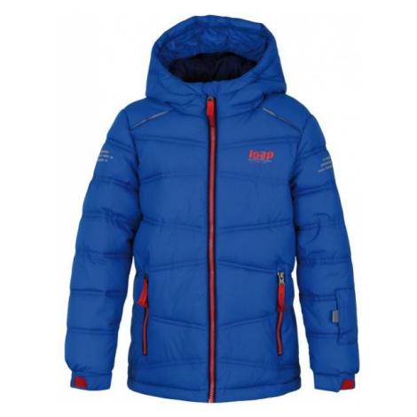 Loap FALDA niebieski 146 - Kurtka zimowa dziecięca