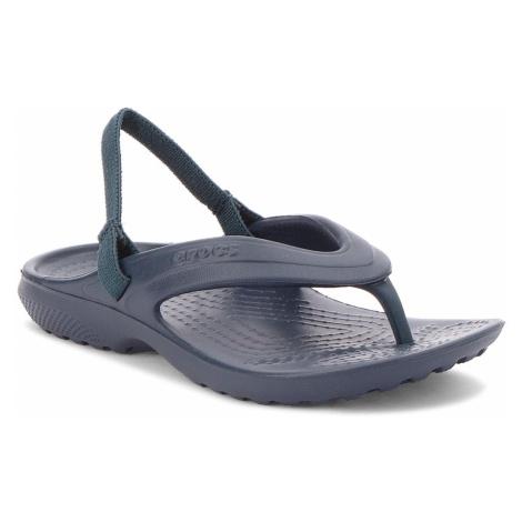 Sandały CROCS - Classic Flip K 202871 Navy