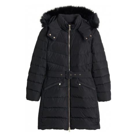 MANGO Płaszcz zimowy 'Parislo5' czarny