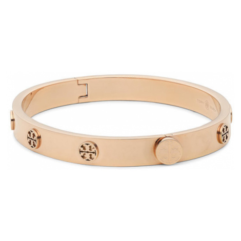 Tory Burch Bransoletka Miller Stud Hinge Bracelet 76881 Złoty