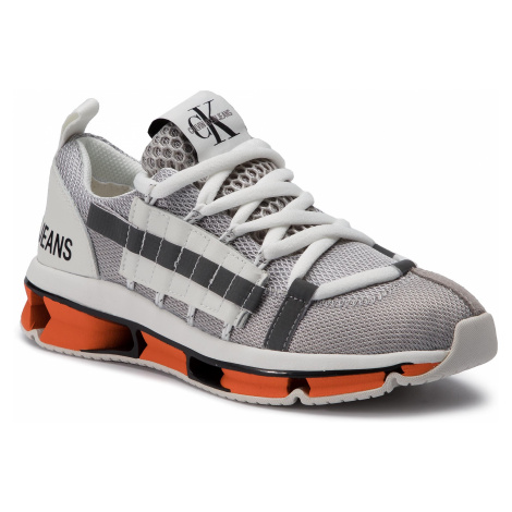 Sneakersy CALVIN KLEIN JEANS - Lizy R7814 Soft Silver