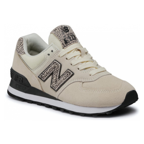 New Balance Sneakersy WL574AND Beżowy