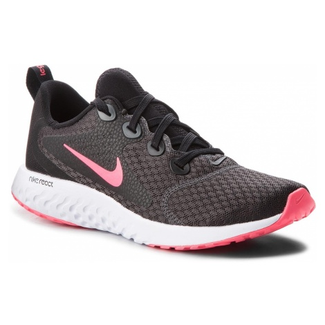 Buty NIKE - Legend React (GS) AH9437 001 Black/Racer Pink/Anthracite