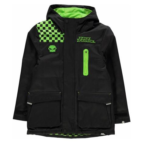 No Fear Boys Black Track Side Jacket Junior