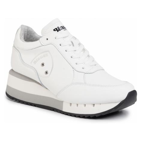 Sneakersy BLAUER - S0CHARLOTTE05/LEA White
