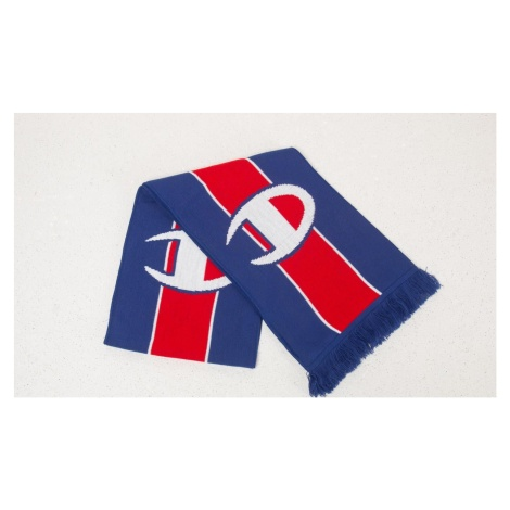 Champion Knitted Scarf Blue/ Red/ White