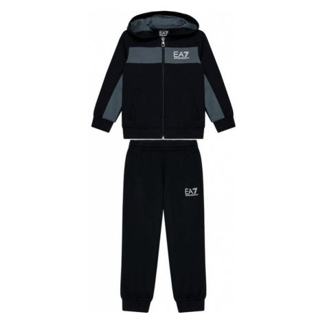 EA7 Emporio Armani Dres 3KBV56 BJ05Z 1200 Czarny Regular Fit