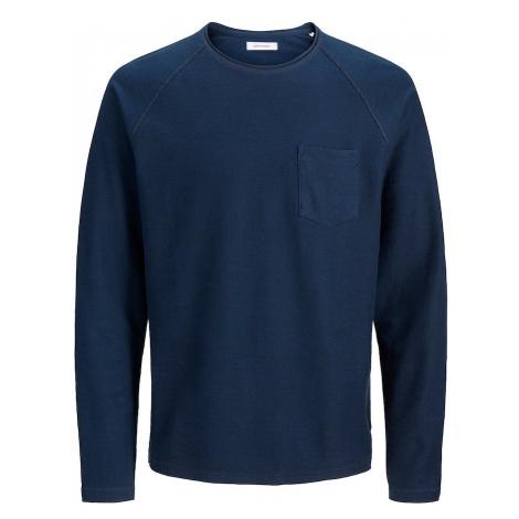 JACK & JONES Bluzka sportowa ciemny niebieski