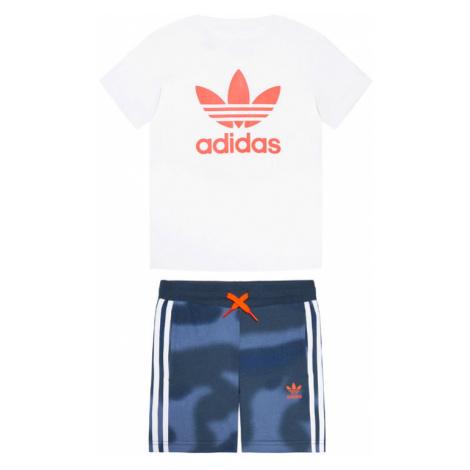 Adidas Komplet t-shirt i spodenki Camo Print GN4123 Kolorowy Regular Fit