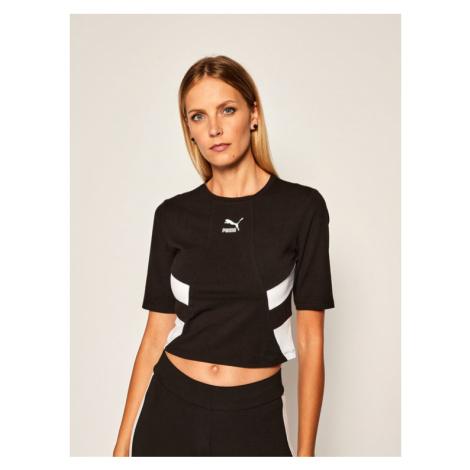 Puma T-Shirt Tfs Retro 597750 Czarny Regular Fit