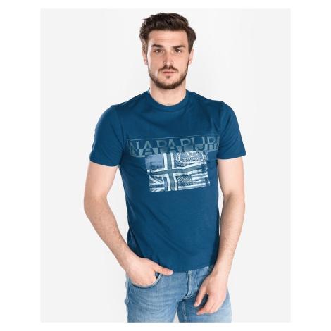 Napapijri Sawy Koszulka Niebieski