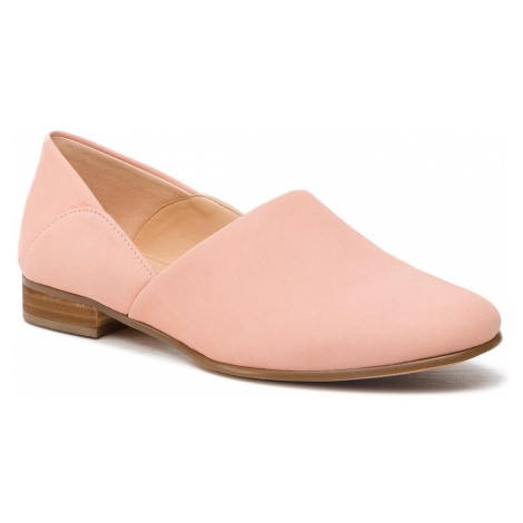 Półbuty CLARKS - Pure Tone 261410174 Light Pink