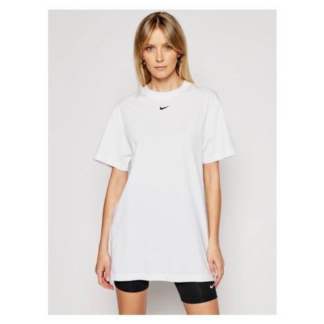 Nike Sukienka codzienna Sportswear Essential CJ2242 Biały Loose Fit