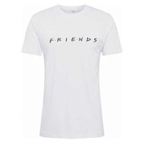 Mister Tee Koszulka 'Friends Logo EMB Tee' czarny / biały