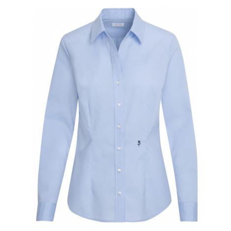 SEIDENSTICKER Bluzka podpalany niebieski