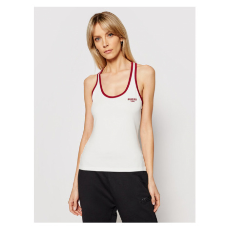 Guess Top O1RA24 J1300 Biały Slim Fit