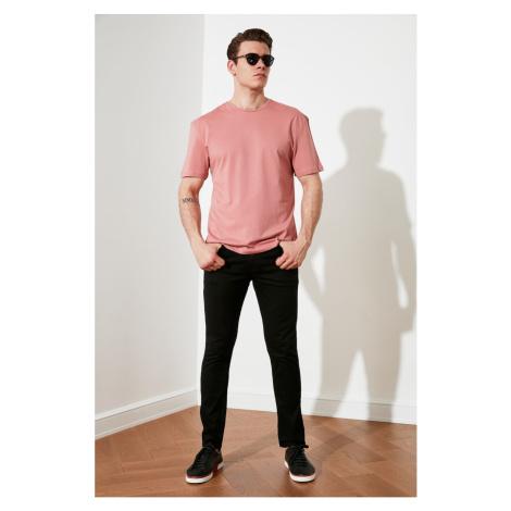 Trendyol Dried Rose Męski Oversize T-Shirt