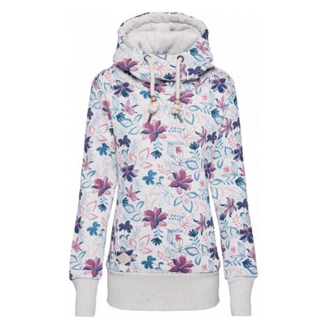 Ragwear Bluzka sportowa 'YODA FLOWERS' mieszane kolory / biały