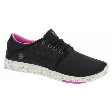 buty Etnies Scout - Black/Black/Pink