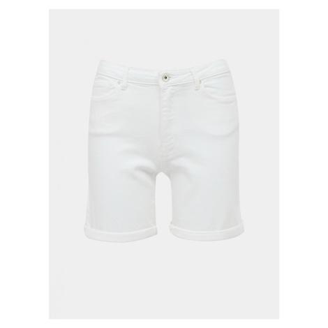 White Denim Shorts ONLY Paola