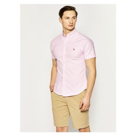 Lauren Ralph Lauren Koszula Classics 710787736 Różowy Slim Fit