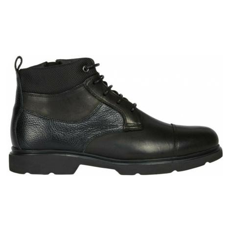 Geox, Boots Czarny, male, rozmiary:
