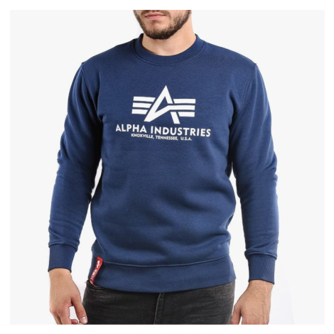 Bluza męska Alpha Industries Basic Sweater 178302 435