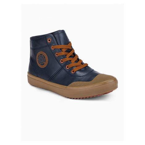 Men's high sneakers Ombre T329