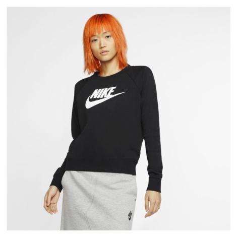 Damska bluza z dzianiny Nike Sportswear Essential - Czerń