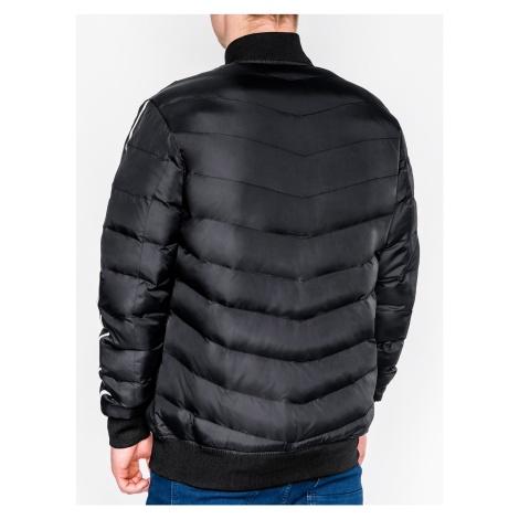 Ombre Clothing Men's mid-season bomber jacket C378