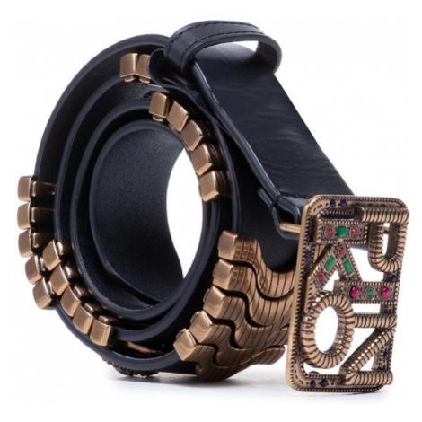 Pinko Pasek Damski Anthea Metal And Stones Belt PE 21 PLT01 1H20VJ Y6ZG Czarny