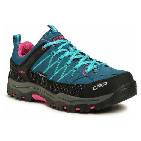 Trekkingi CMP - Rigel Low Trekking Shoes Wp 3Q13244J Deep Lake/Baltic 06MF