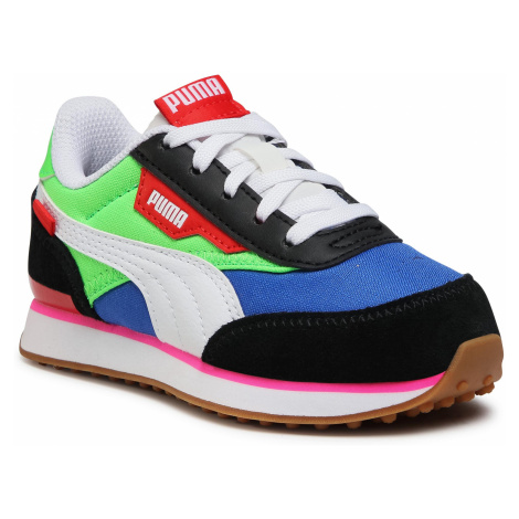 Sneakersy PUMA - Future Rider Play On Ps 372351 01 PumaB/FluoGreen/DazzlingBlue