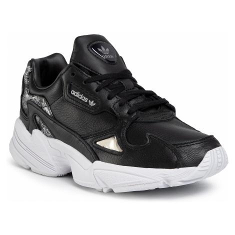 Buty adidas - Falcon W EH1256 Cblack/Cblack/Silvmt