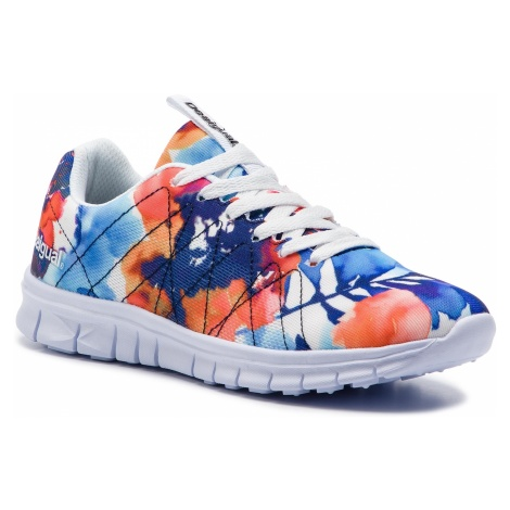 Sneakersy DESIGUAL - Running Camo Flower 19SUKW03 1000